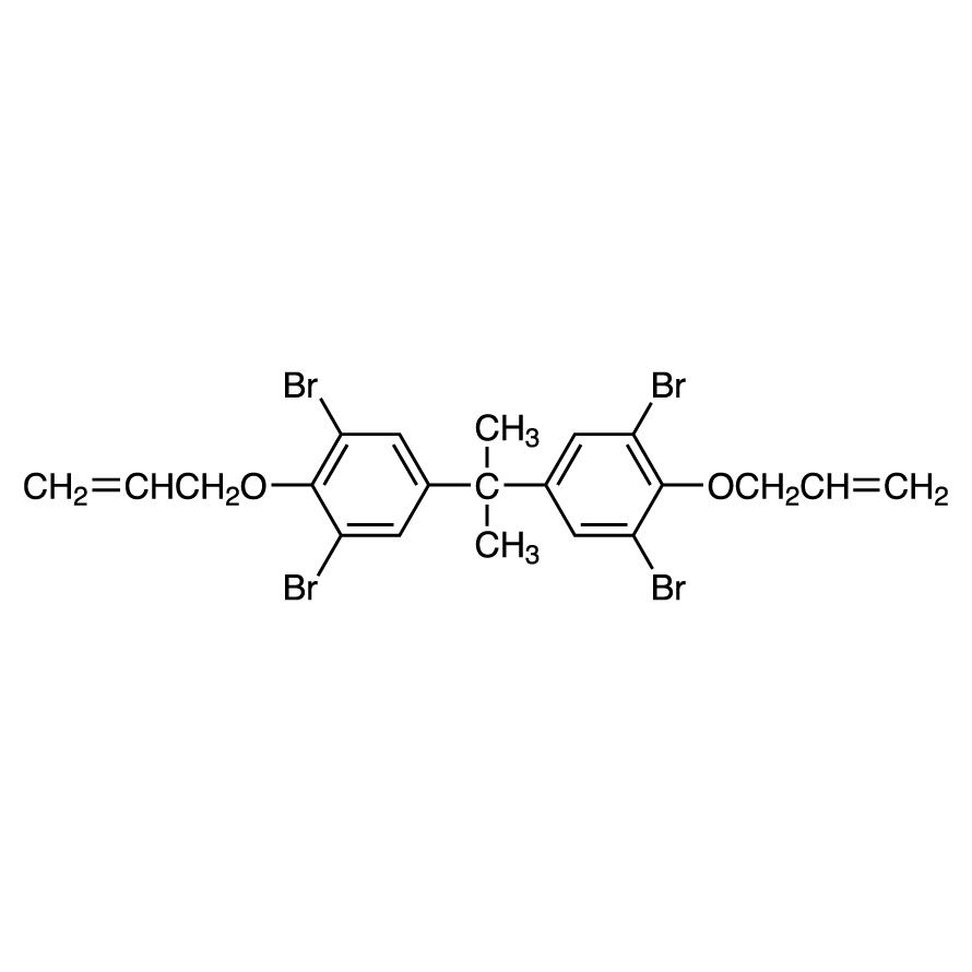 2,2-Bis(4-allyloxy-3,5-dibromophenyl)propane