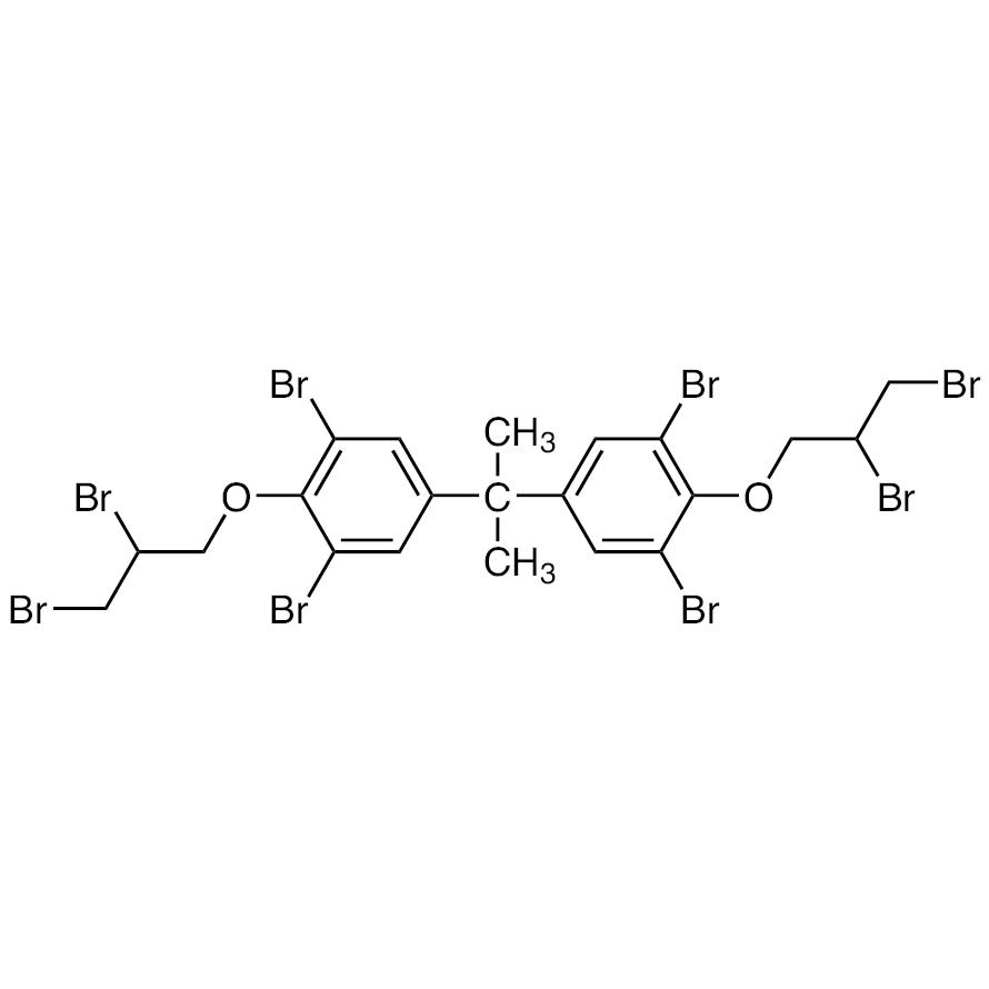 2,2-Bis[3,5-dibromo-4-(2,3-dibromopropoxy)phenyl]propane