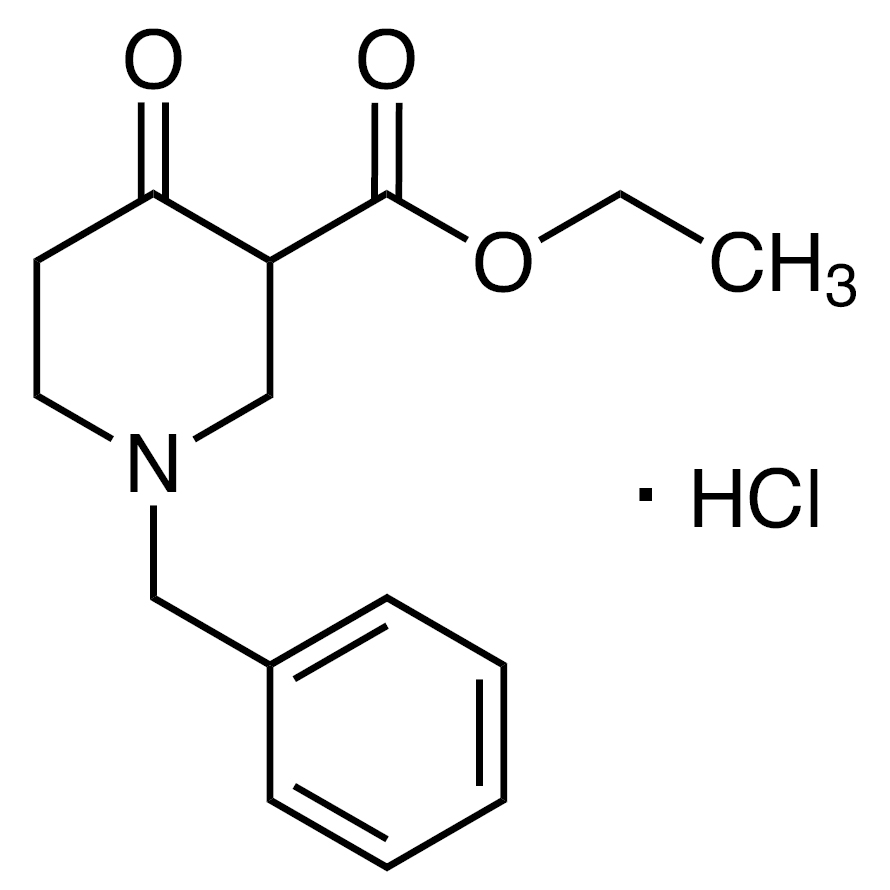 Ethyl 1-Benzyl-4-oxo-3-piperidinecarboxylate Hydrochloride
