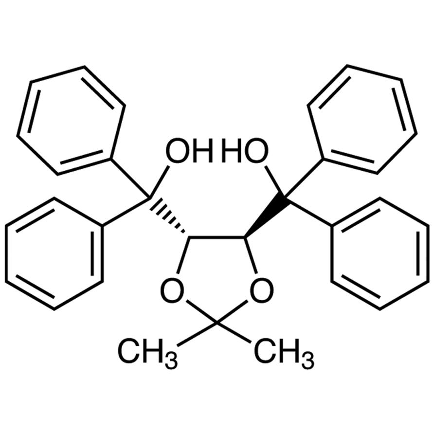 (+)-4,5-Bis[hydroxy(diphenyl)methyl]-2,2-dimethyl-1,3-dioxolane