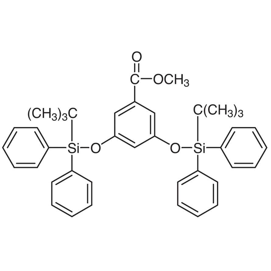 Methyl 3,5-Bis(tert-butyldiphenylsilyloxy)benzoate (ca. 20% in Toluene, ca. 0.28mol/L)