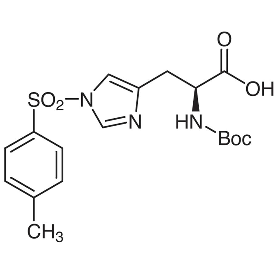 N-(tert-Butoxycarbonyl)--(p-toluenesulfonyl)-L-histidine