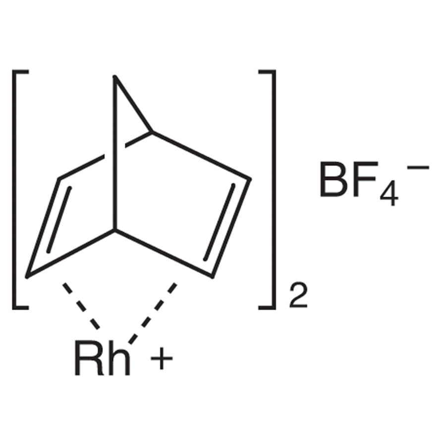 Bis[-(2,5-norbornadiene)]rhodium(I) Tetrafluoroborate