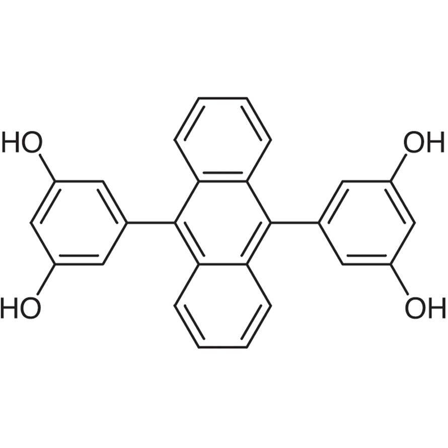 9,10-Bis(3,5-dihydroxyphenyl)anthracene