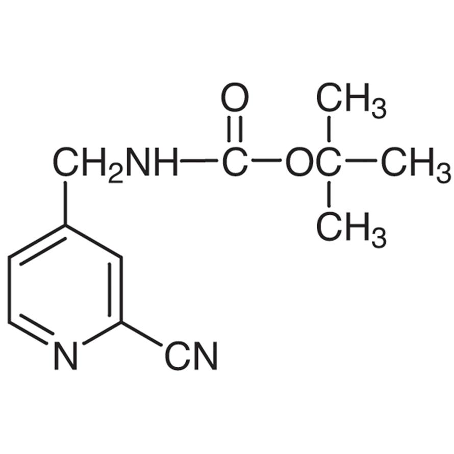 4-[(tert-Butoxycarbonylamino)methyl]-2-cyanopyridine