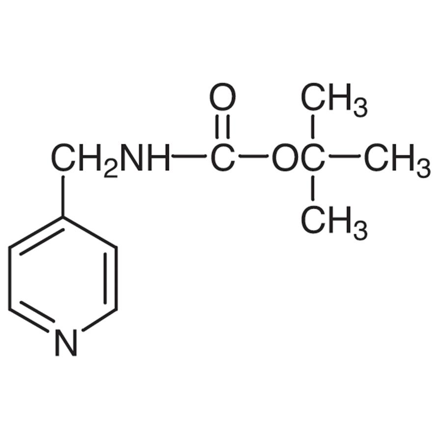 4-[(tert-Butoxycarbonylamino)methyl]pyridine