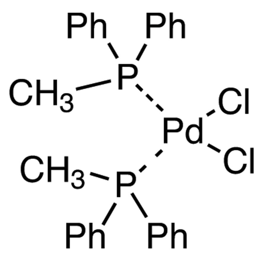 Bis(methyldiphenylphosphine)palladium(II) Dichloride (cis- and trans- mixture)