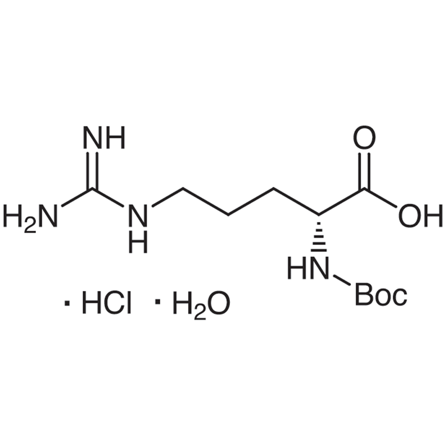N-(tert-Butoxycarbonyl)-D-arginine Hydrochloride Monohydrate
