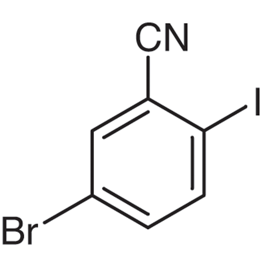5-Bromo-2-iodobenzonitrile