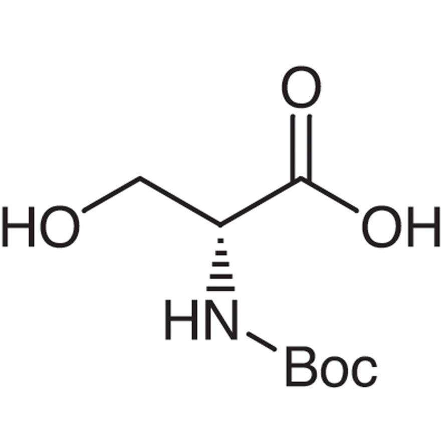 N-(tert-Butoxycarbonyl)-D-serine