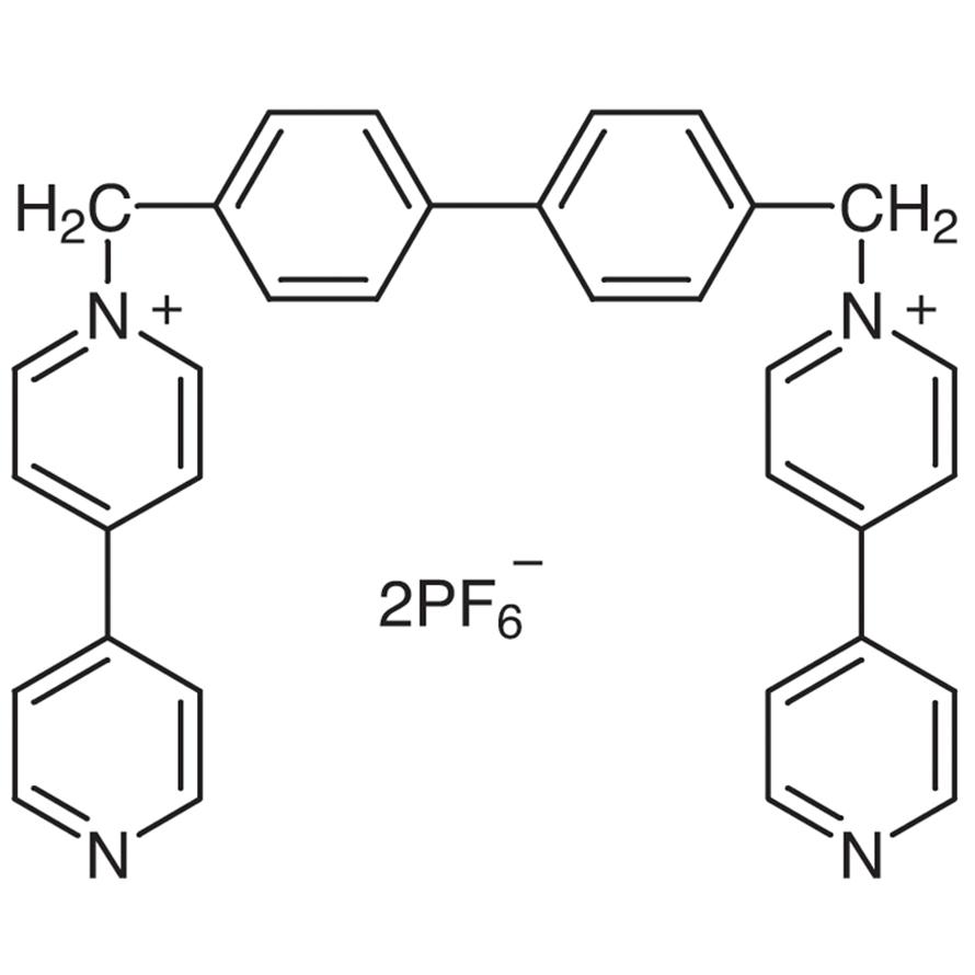 1,1'-[Biphenyl-4,4'-diylbis(methylene)]bis(4,4'-bipyridinium) Bis(hexafluorophosphate)