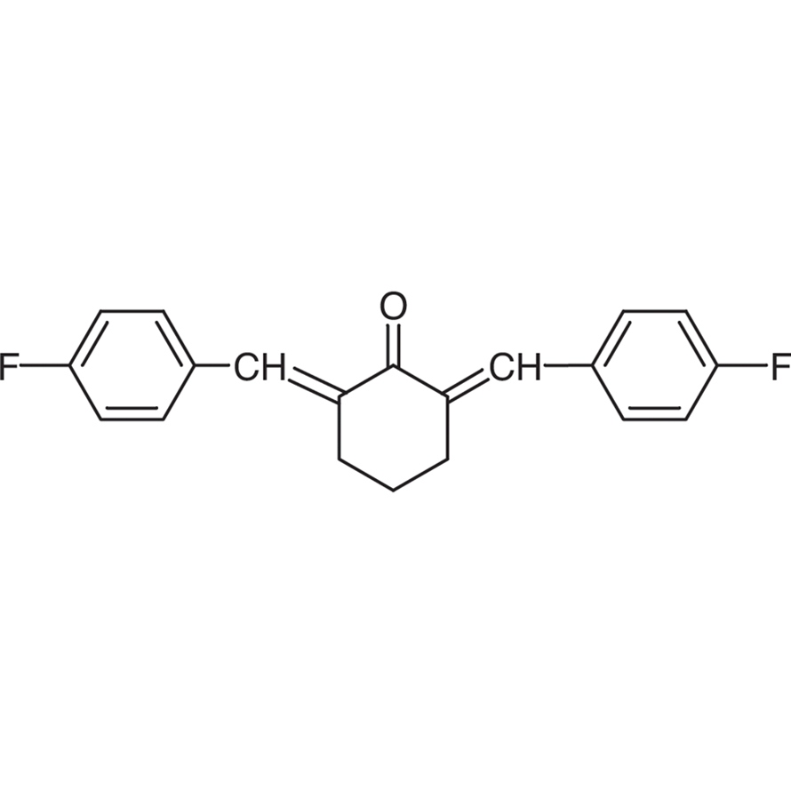 2,6-Bis(4-fluorobenzylidene)cyclohexanone