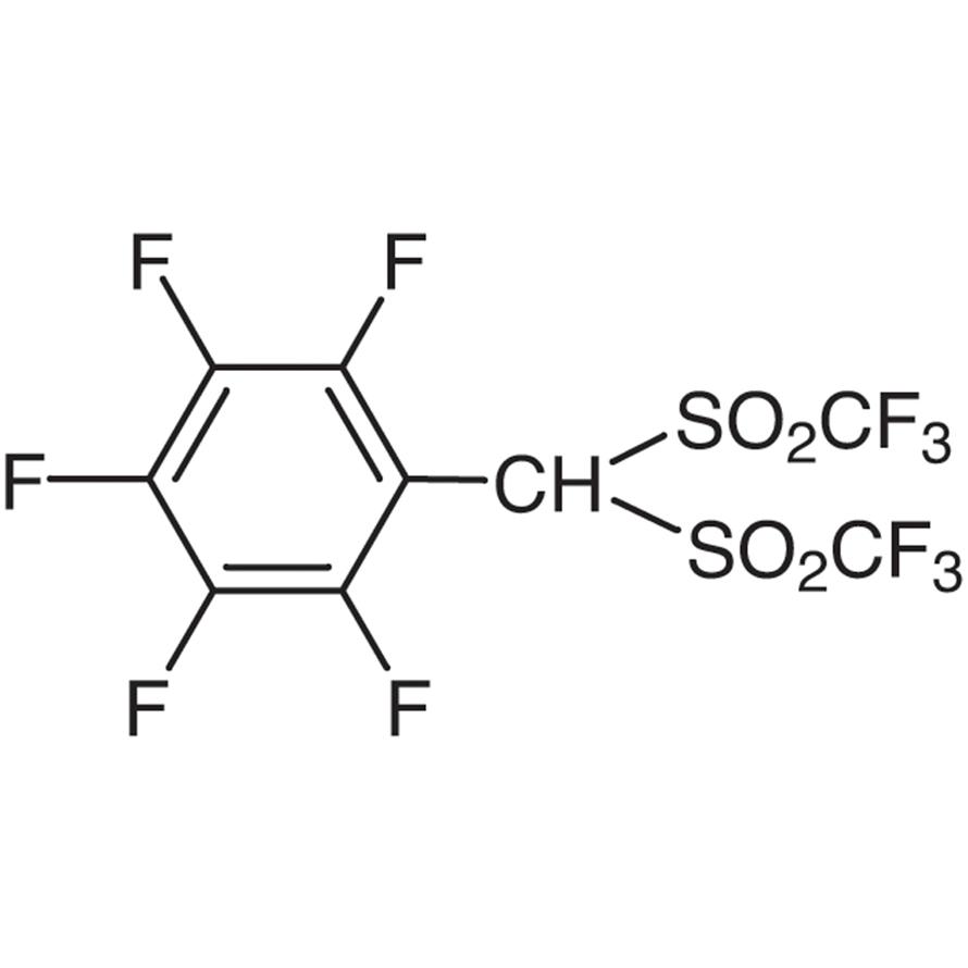 1-[Bis(trifluoromethanesulfonyl)methyl]-2,3,4,5,6-pentafluorobenzene