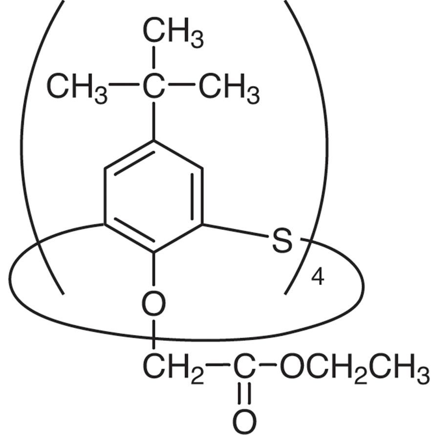 4-tert-Butyl-1-(ethoxycarbonylmethoxy)thiacalix[4]arene