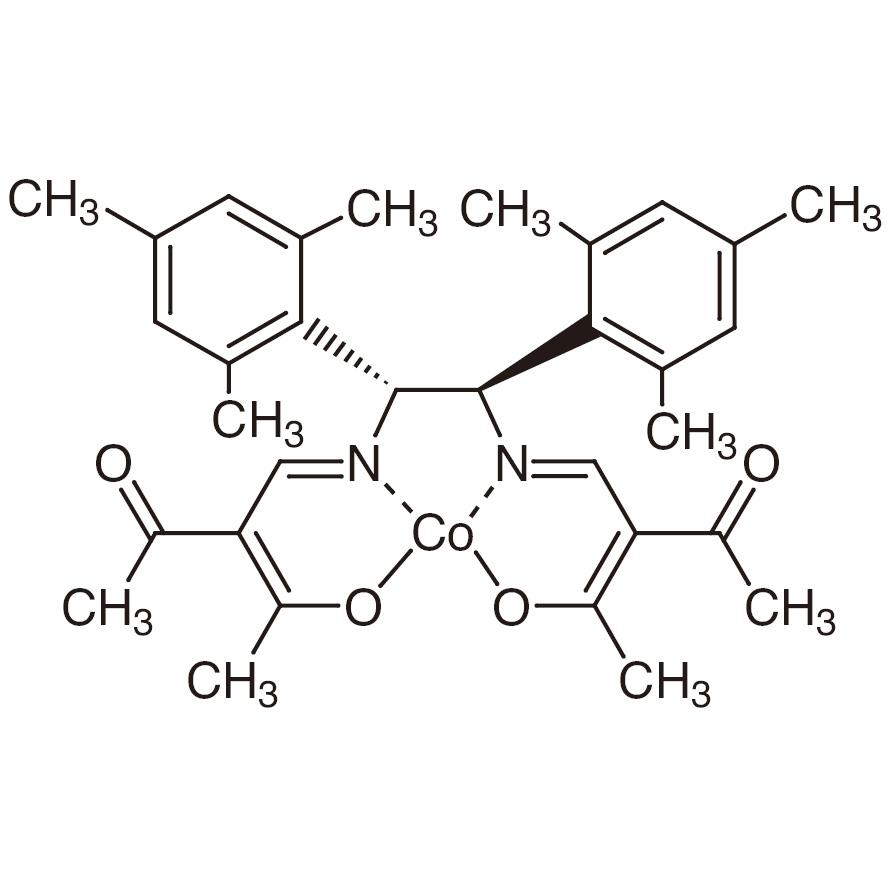 (1R,2R)-N,N'-Bis(2-acetyl-3-oxo-2-butenylidene)-1,2-dimesitylethylenediaminato Cobalt(II)