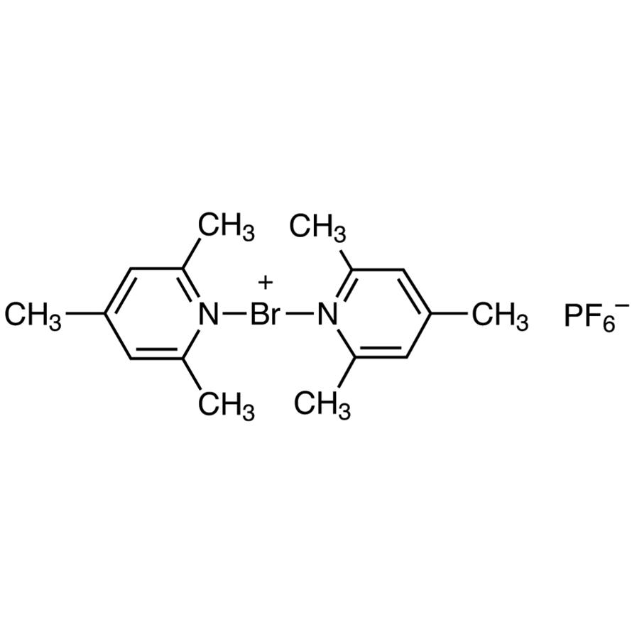 Bis(2,4,6-trimethylpyridine)bromonium Hexafluorophosphate