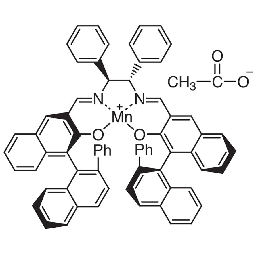 (1S,2S)-N,N'-Bis[(R)-2-hydroxy-2'-phenyl-1,1'-binaphthyl-3-ylmethylene]-1,2-diphenylethylenediaminato Manganese(III) Acetate