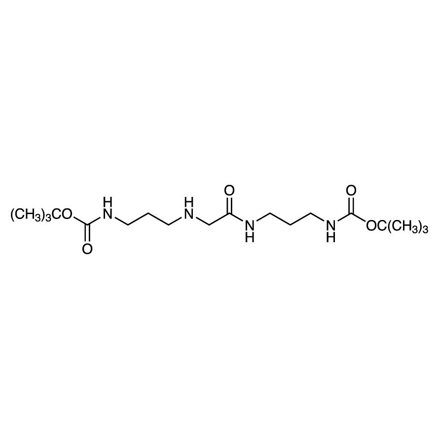 N,N'-Bis[3-(tert-butoxycarbonylamino)propyl]glycinamide