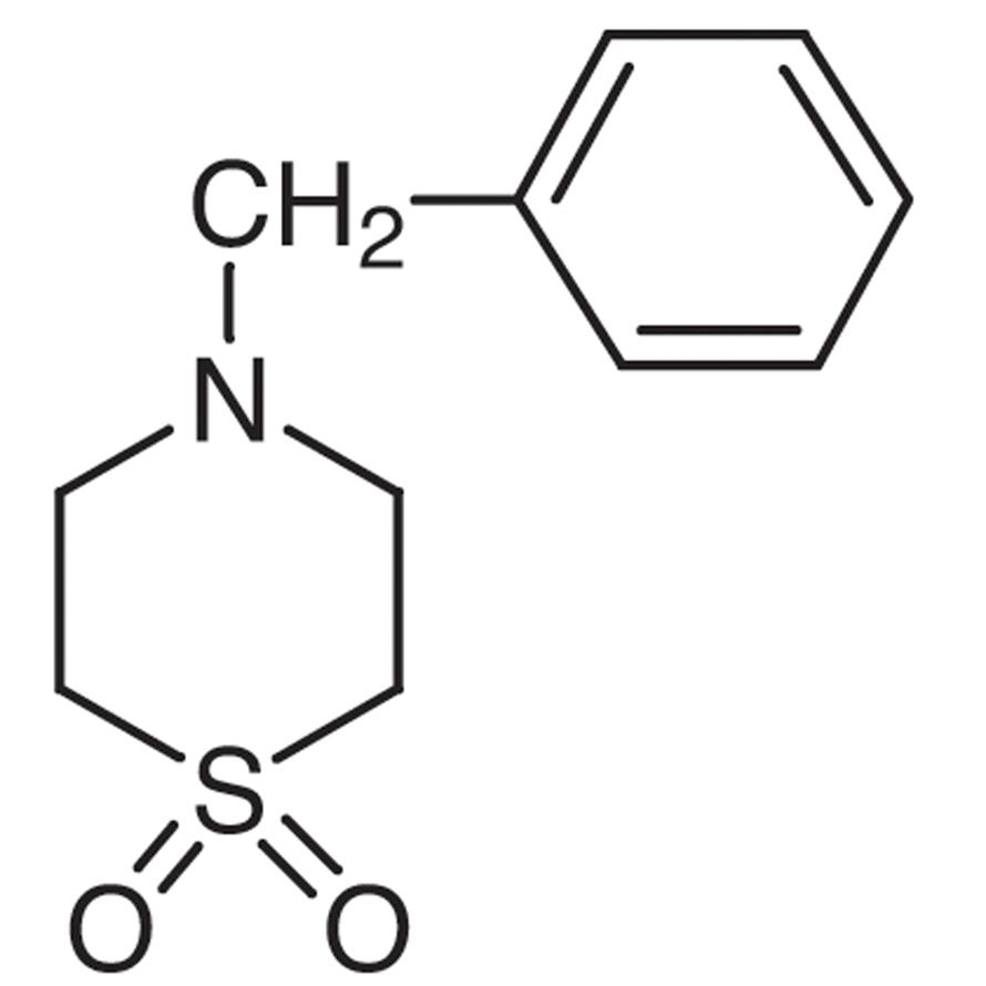 4-Benzylthiomorpholine 1,1-Dioxide