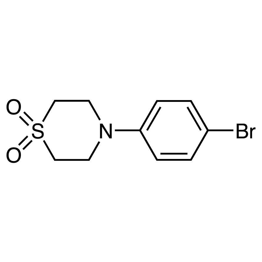 4-(4-Bromophenyl)thiomorpholine 1,1-Dioxide