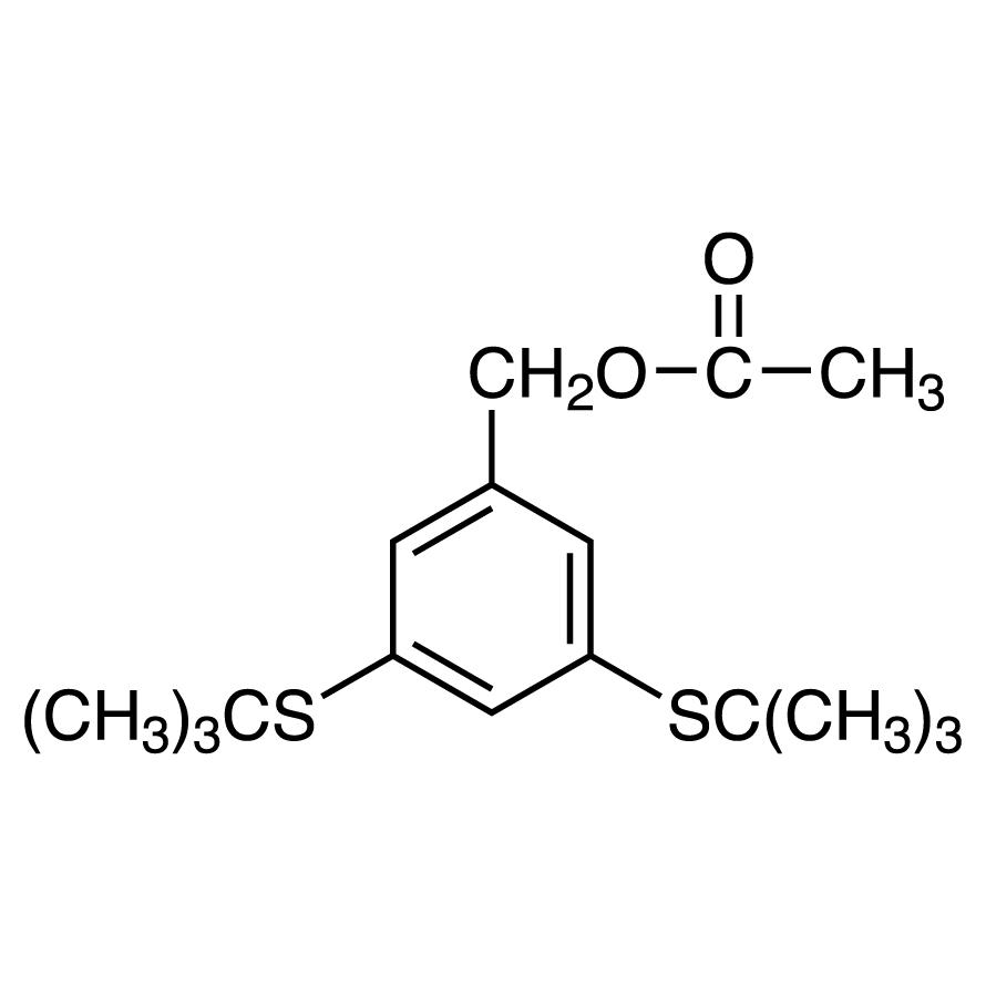 3,5-Bis(tert-butylthio)benzyl Acetate