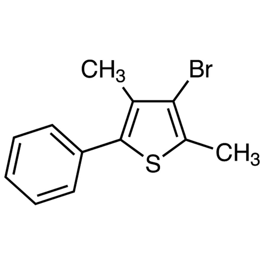 3-Bromo-2,4-dimethyl-5-phenylthiophene