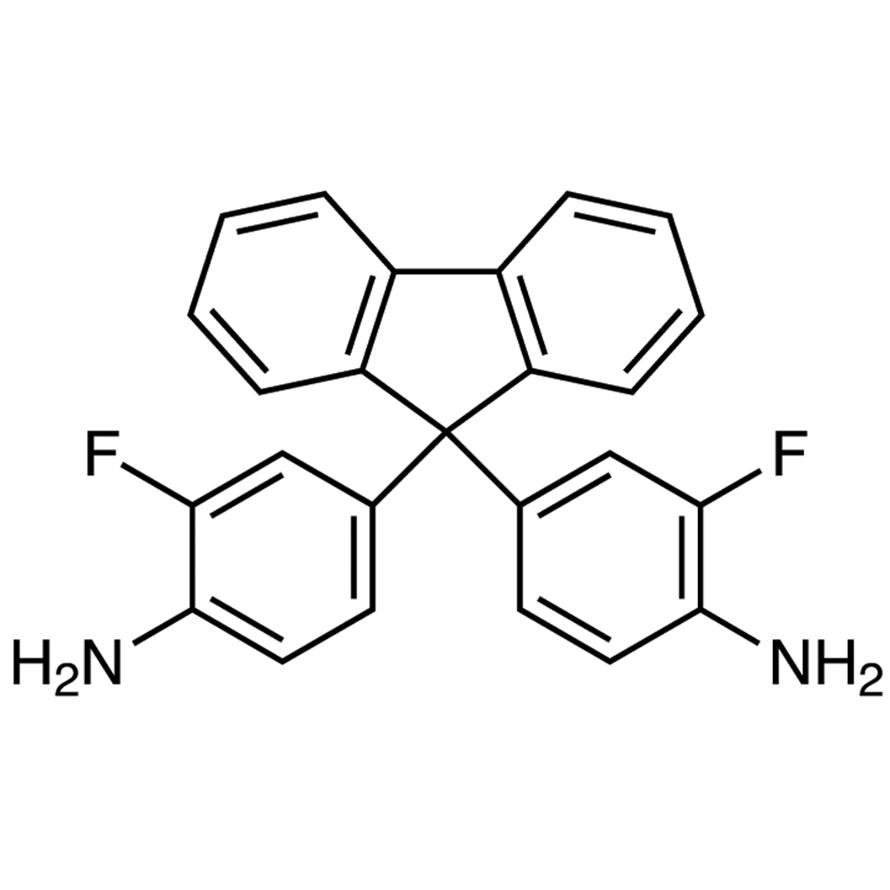 9,9-Bis(4-amino-3-fluorophenyl)fluorene