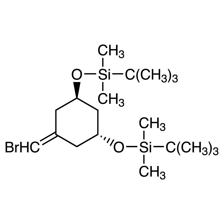 (1R,3R)-5-(Bromomethylene)-1,3-bis(tert-butyldimethylsilyloxy)cyclohexane