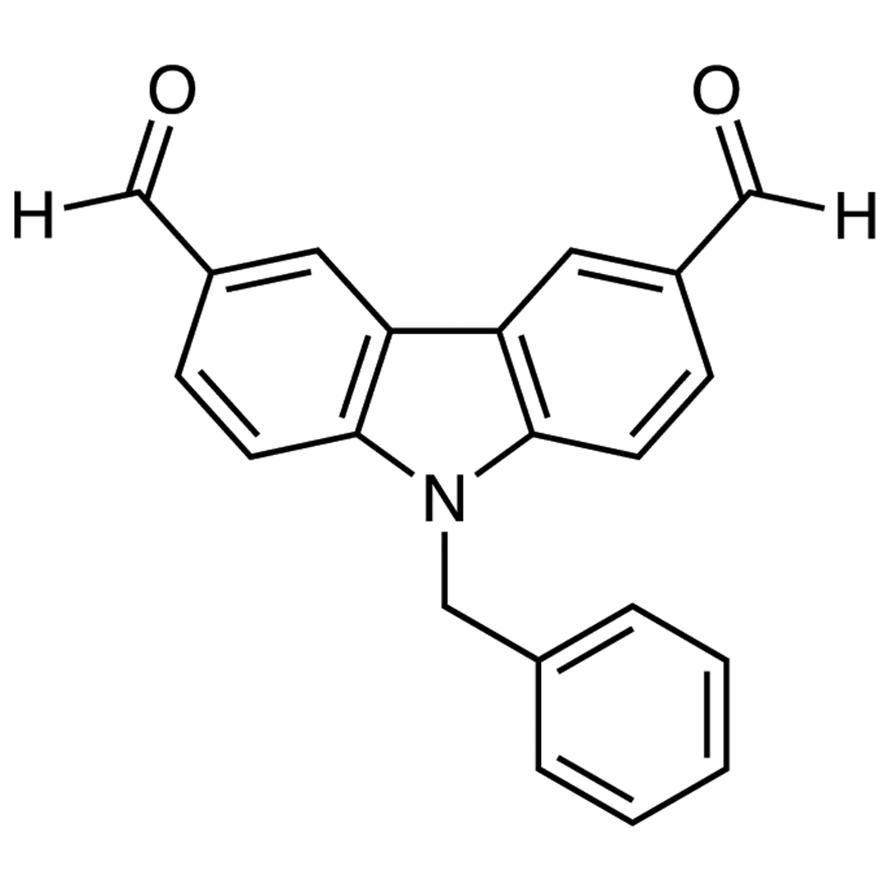 9-Benzylcarbazole-3,6-dicarboxaldehyde