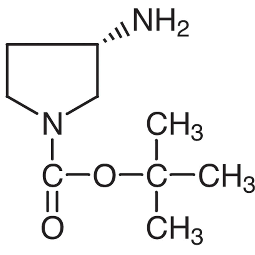 (3S)-(-)-1-(tert-Butoxycarbonyl)-3-aminopyrrolidine