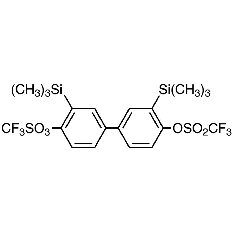 3,3'-Bis(trimethylsilyl)biphenyl-4,4'-diyl Bis(trifluoromethanesulfonate)