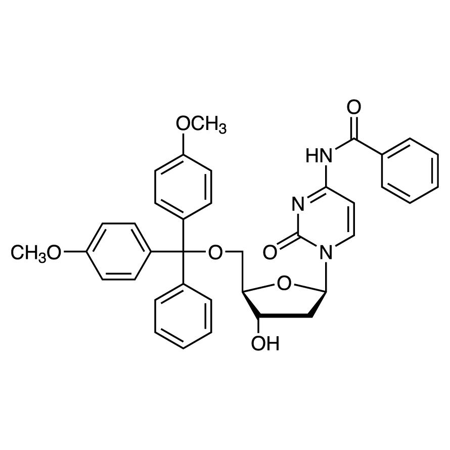 N4-Benzoyl-5'-O-(4,4'-dimethoxytrityl)-2'-deoxycytidine