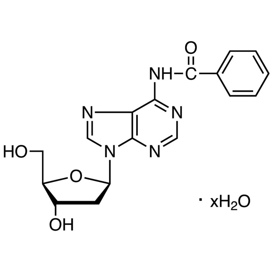 N6-Benzoyl-2'-deoxyadenosine Hydrate