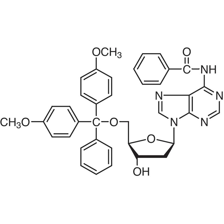N6-Benzoyl-5'-O-(4,4'-dimethoxytrityl)-2'-deoxyadenosine