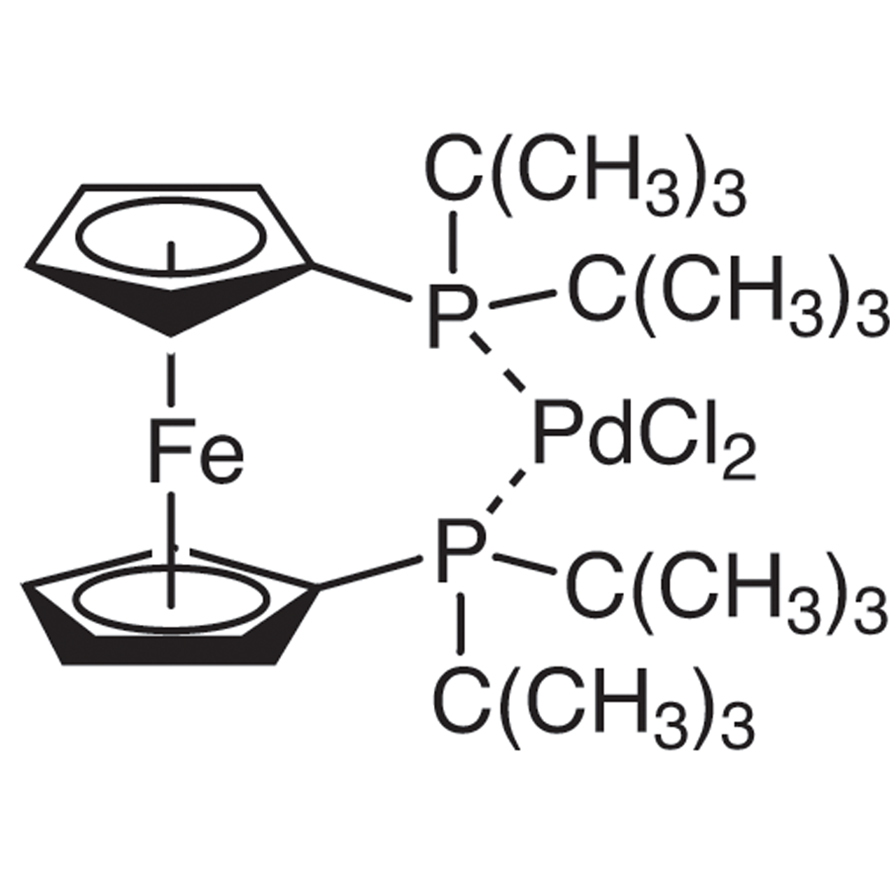 [1,1'-Bis(di-tert-butylphosphino)ferrocene]palladium(II) Dichloride