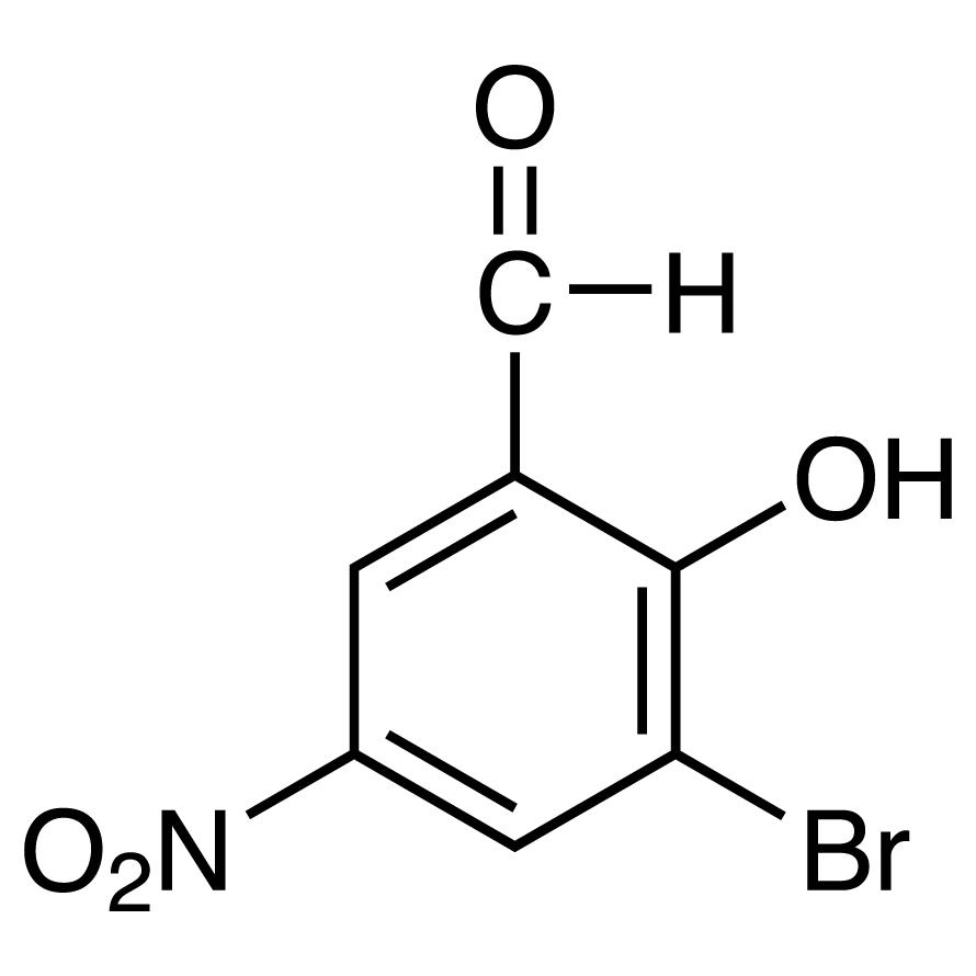 3-Bromo-5-nitrosalicylaldehyde