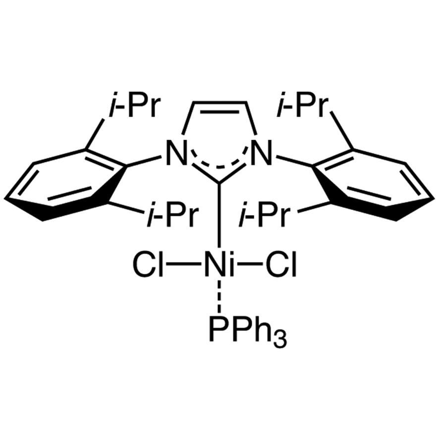 [1,3-Bis(2,6-diisopropylphenyl)imidazol-2-ylidene]triphenylphosphine Nickel(II) Dichloride