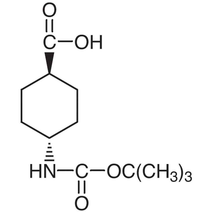 trans-4-(tert-Butoxycarbonylamino)cyclohexanecarboxylic Acid