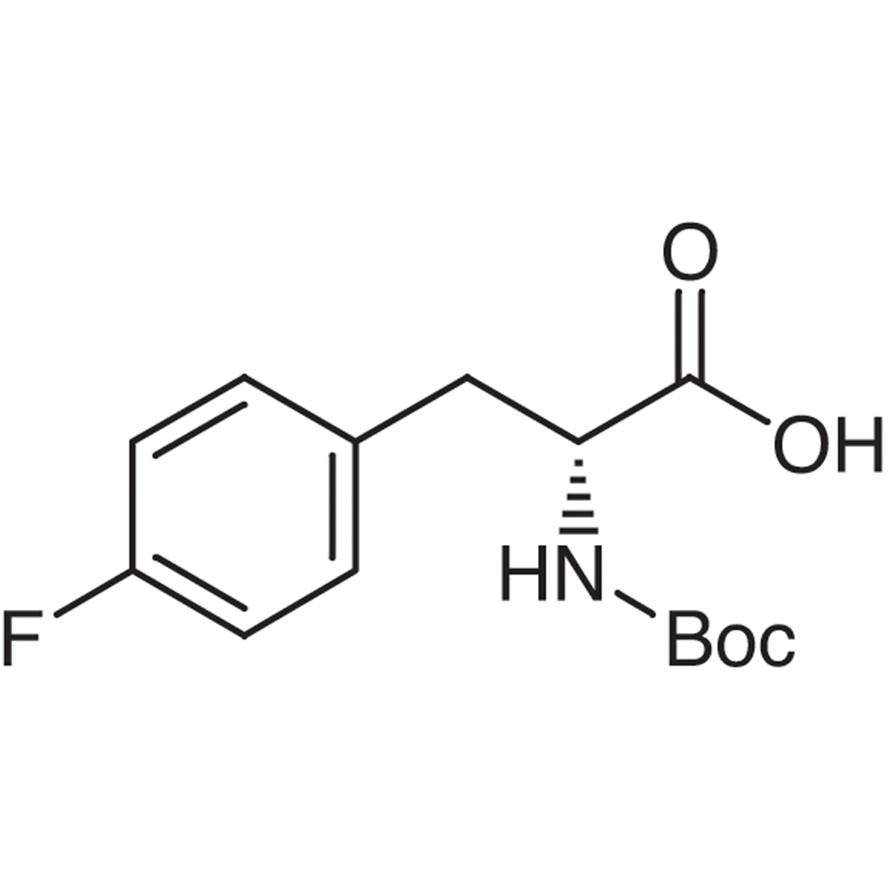 N-(tert-Butoxycarbonyl)-4-fluoro-D-phenylalanine