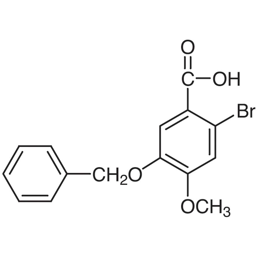 5-Benzyloxy-2-bromo-4-methoxybenzoic Acid