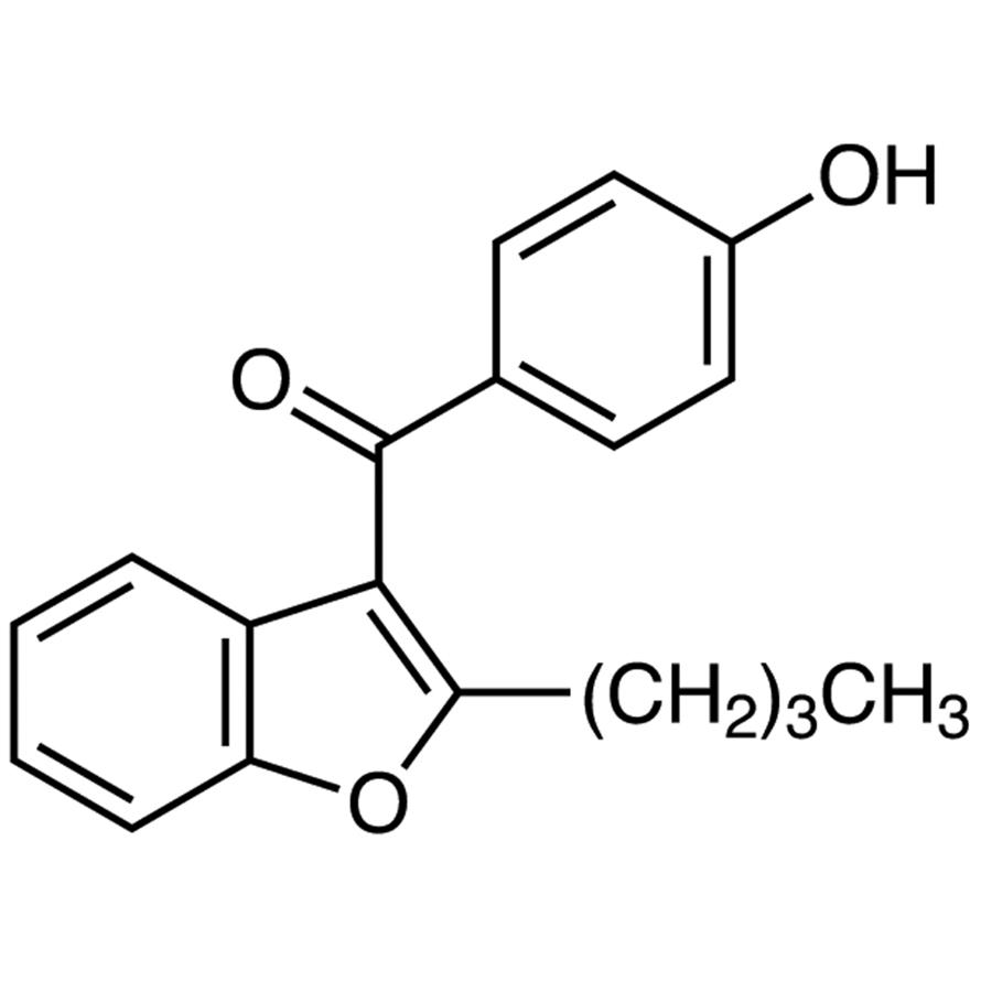 2-Butyl-3-(4-hydroxybenzoyl)benzofuran
