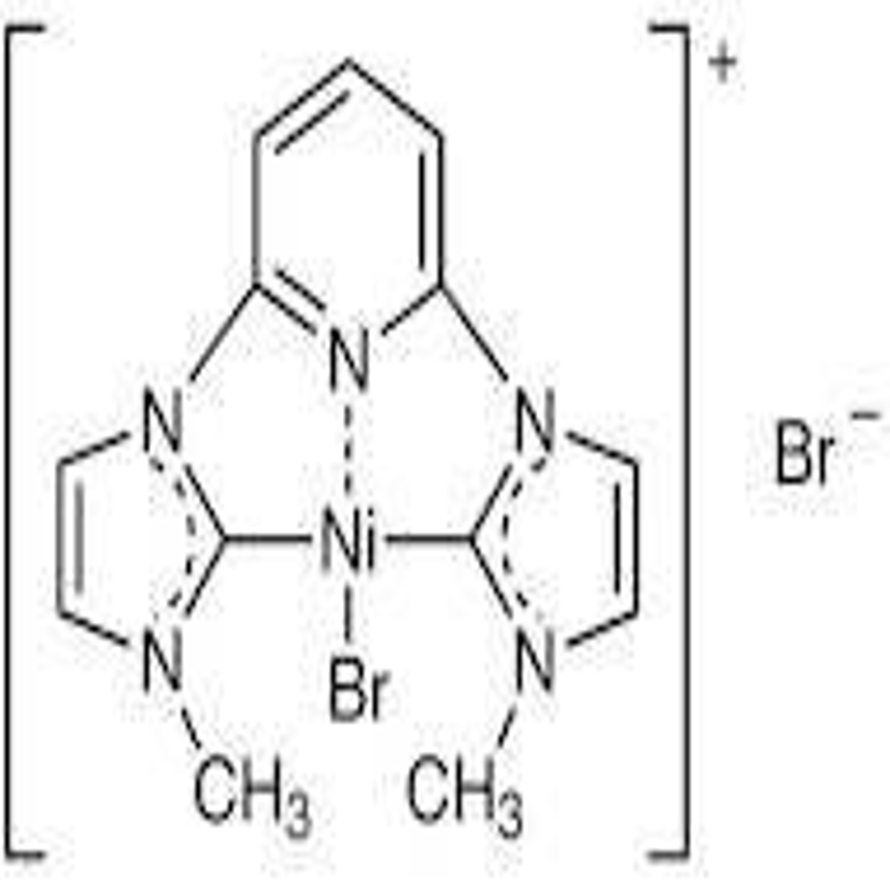 Bromo[(2,6-pyridinediyl)bis(3-methyl-1-imidazolyl-2-ylidene)]nickel Bromide