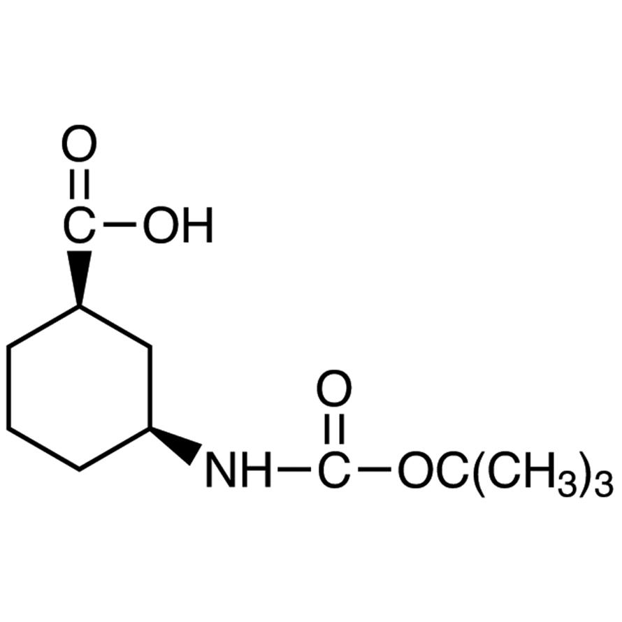 (1R,3S)-3-(tert-Butoxycarbonylamino)cyclohexanecarboxylic Acid