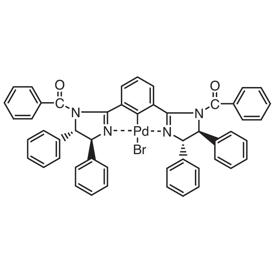 Bromo[[1,3-bis[(4S,5S)-1-benzoyl-4,5-diphenyl-2-imidazolin-2-yl]benzene]palladium(II)]
