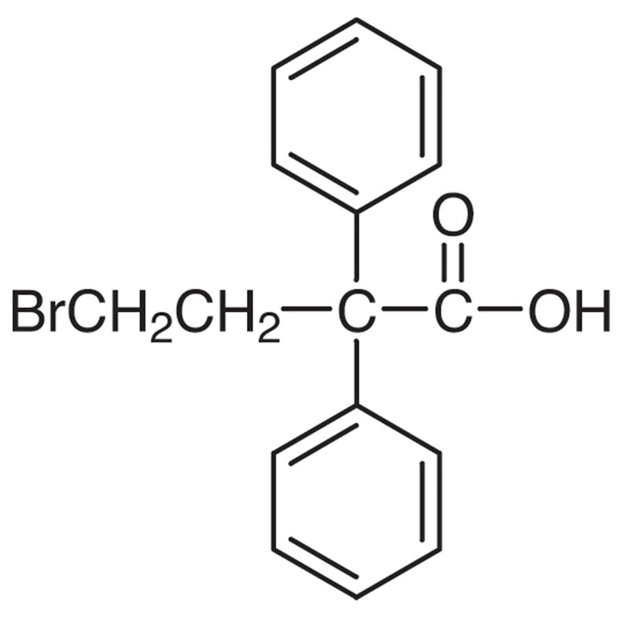 4-Bromo-2,2-diphenylbutyric Acid