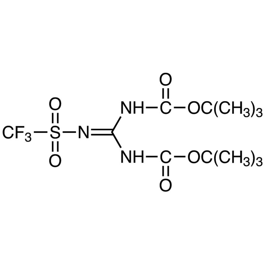 1,3-Bis(tert-butoxycarbonyl)-2-(trifluoromethanesulfonyl)guanidine