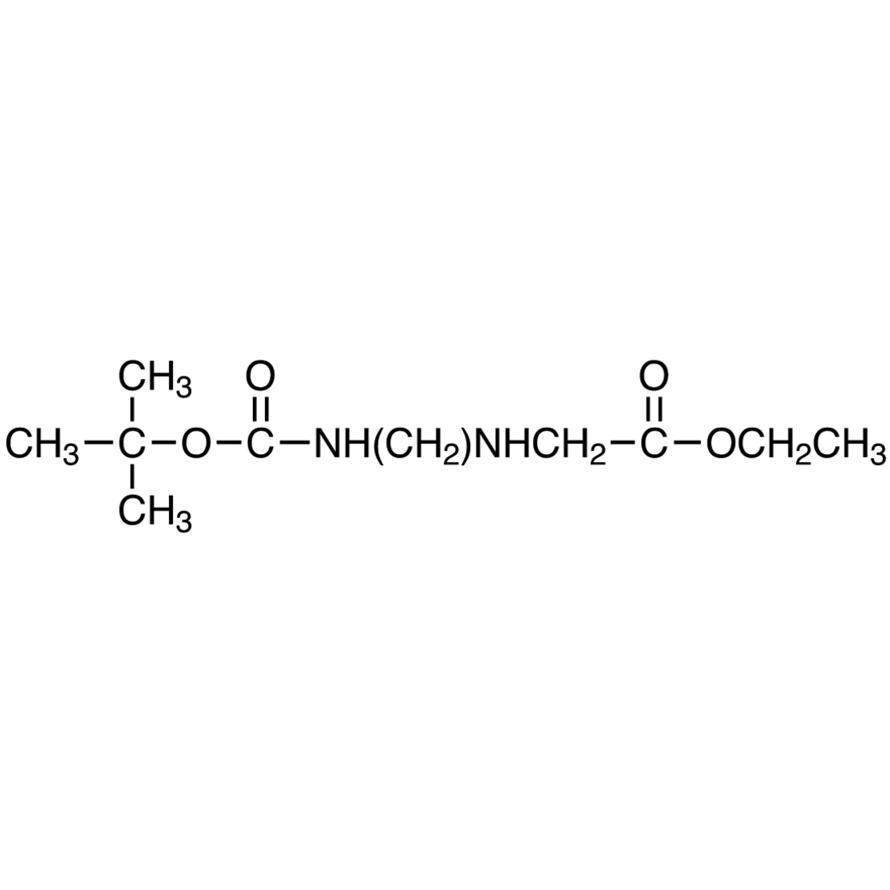 N-[2-(tert-Butoxycarbonylamino)ethyl]glycine Ethyl Ester