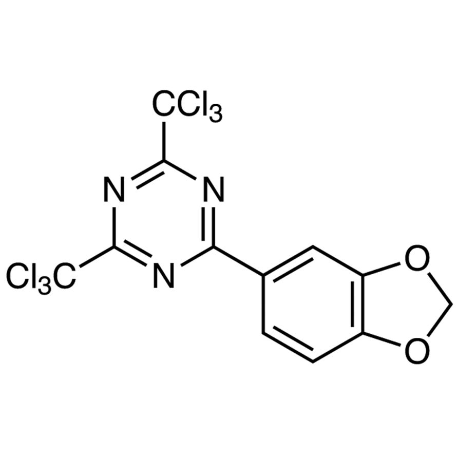 2-(1,3-Benzodioxol-5-yl)-4,6-bis(trichloromethyl)-1,3,5-triazine