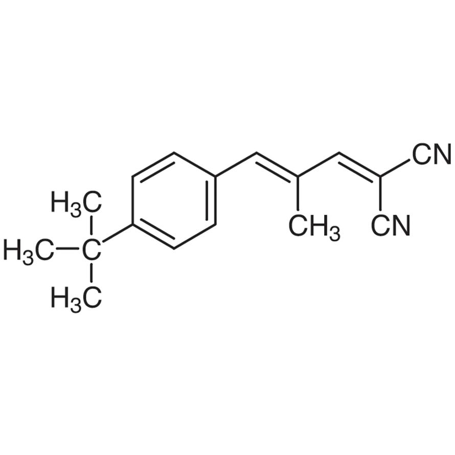 trans-2-[3-(4-tert-Butylphenyl)-2-methyl-2-propenylidene]malononitrile