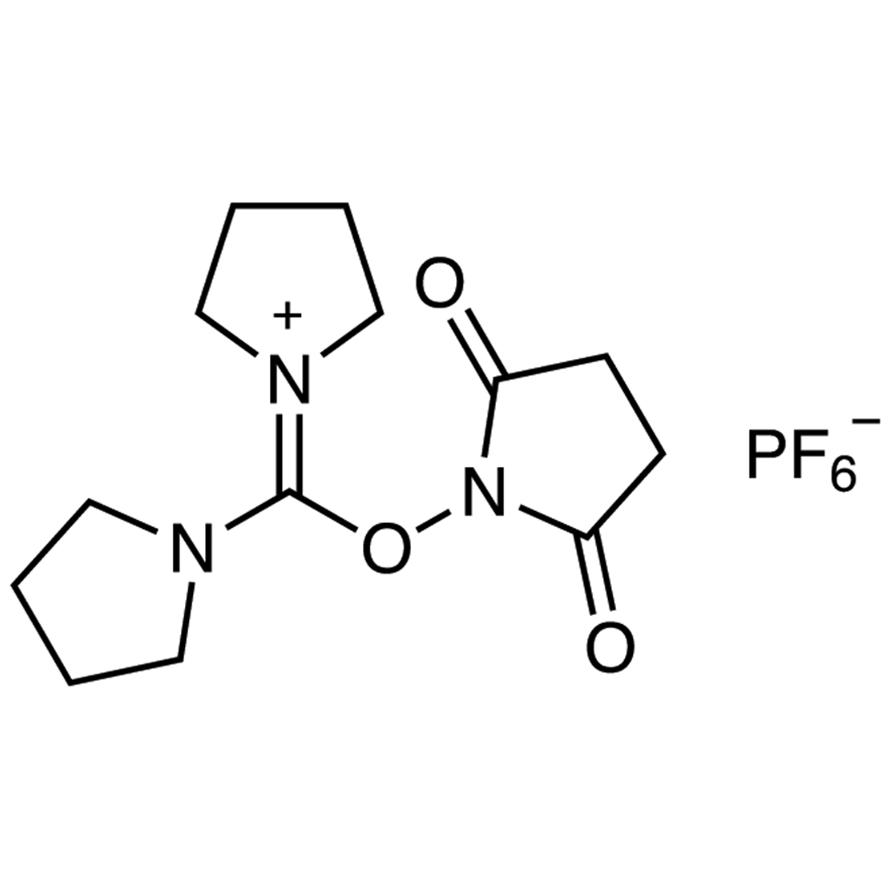 N,N,N',N'-Bis(tetramethylene)-O-(N-succinimidyl)uronium Hexafluorophosphate